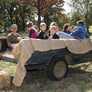 Hayrides at the Fall Family Celebration