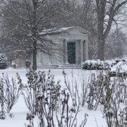 Dewey Vault in Snow
